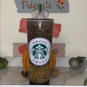 Starbucks hocus pocus glitter tumbler
